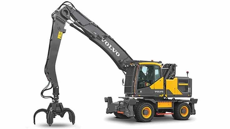 Volvo CE expands material handler lineup