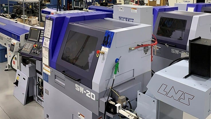 Precision Plus ups manufacturing capabilities with new CNC lathes
