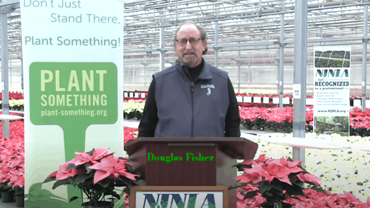 Douglas H. Fisher awarded NJNLA Green Industry Advocate of the Year