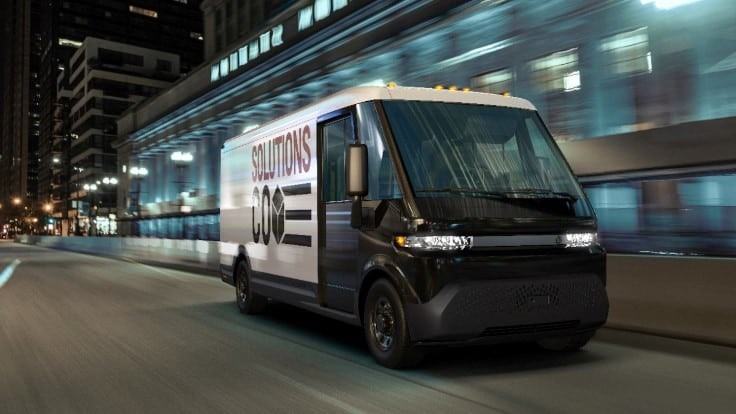 GM announces electric product delivery system