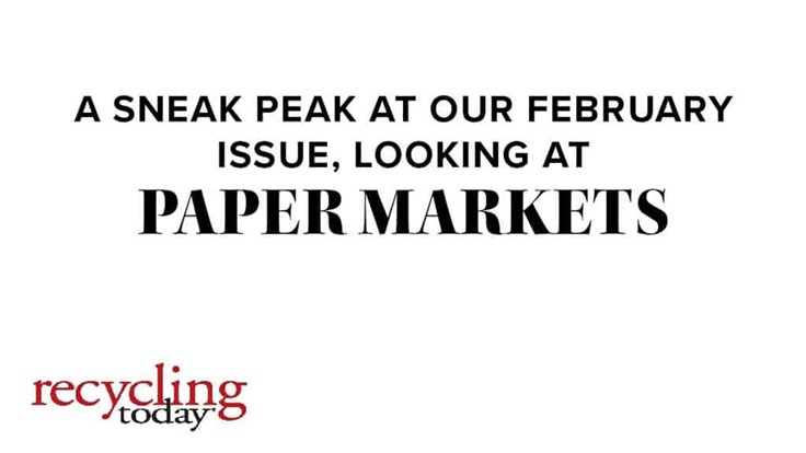 Paper Market Report: February 2021