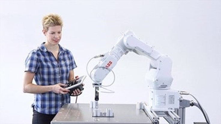 Robot programming software