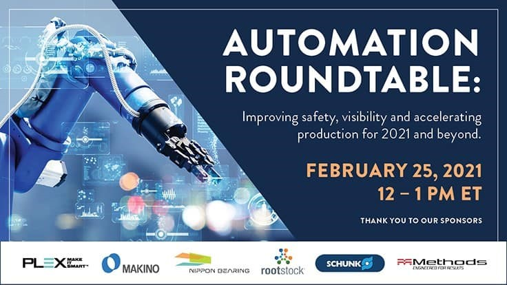Registration is open - Online automation roundtable