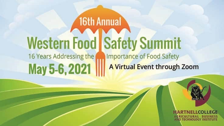 Western Food Safety Summit Goes Virtual May 5-6