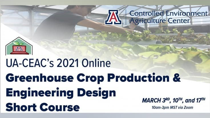 UA-CEAC announces online four-day conference on crop production and engineering/design