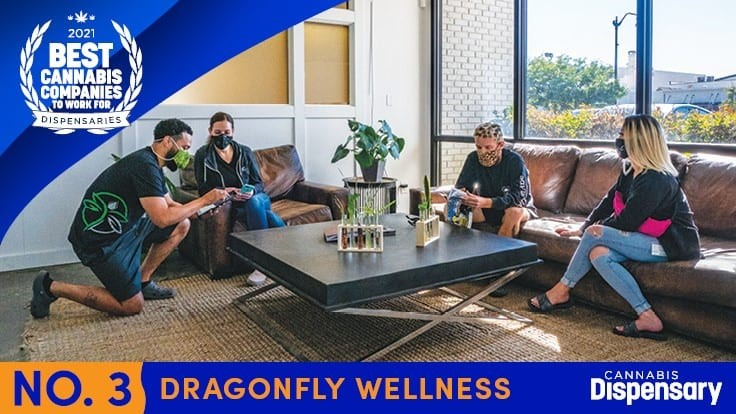 No. 3 Best Cannabis Companies to Work For - Dispensaries: Dragonfly Wellness Mixes Personal With Professional