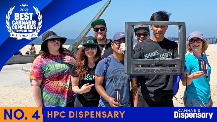 No. 4. Best Cannabis Companies to Work For - Dispensaries: HPC Dispensary Takes Care of its Team With Bonuses, 'Zen Room'
