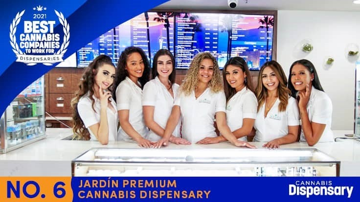 No. 6 Best Cannabis Companies to Work For - Dispensaries: Jardín Thrives Through Hard-Hit Las Vegas Economy