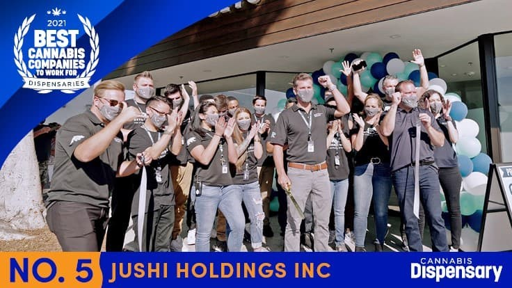 No. 5 Best Cannabis Companies to Work For - Dispensaries: Jushi Serves Its Employees with Purpose