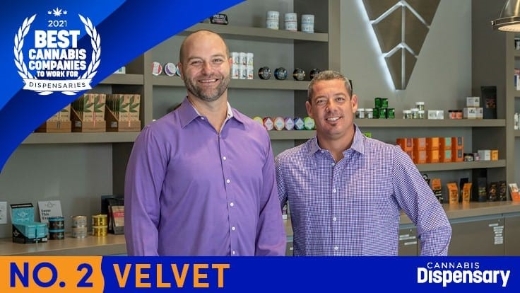 No. 2 Best Cannabis Companies to Work For - Dispensaries: Velvet Prioritizes Healthy Work-Life Balance
