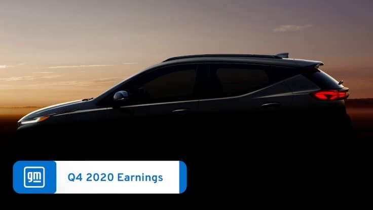 GM earns $6.4 billion in 2020, down slightly from 2019 despite massive COVID-19 changes