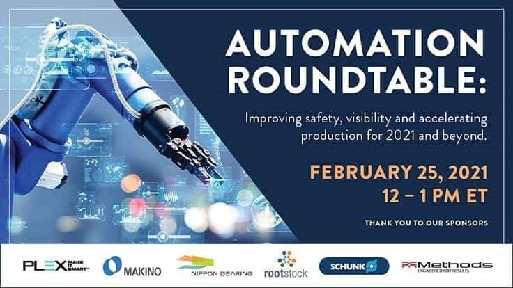 Automation Roundtable February 25 - reminder