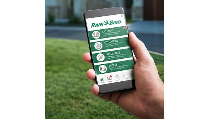 Rain Bird launches free app for landscape irrigation professionals