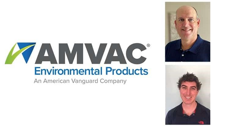 AMVAC Environmental Products hires regional sales managers