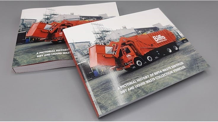 Biffa collection trucks topic of new book