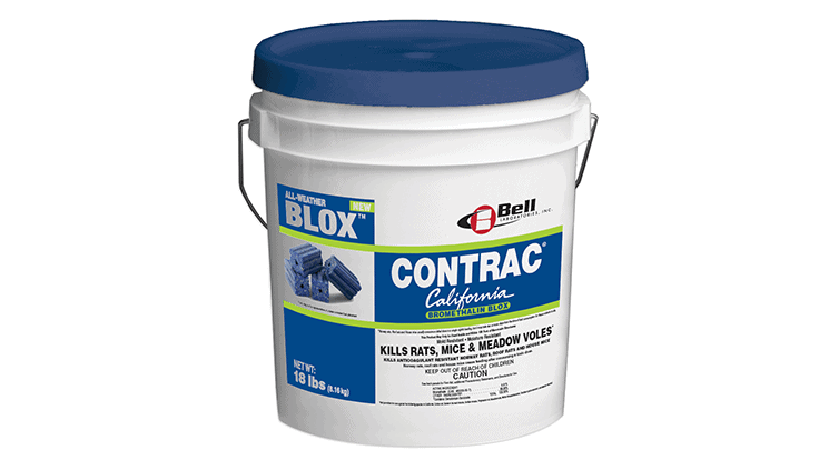 Bell Introduces Contrac California Bromethalin Blox