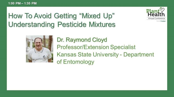 "How To Avoid Getting ""Mixed Up"" Understanding Pesticide Mixtures"
