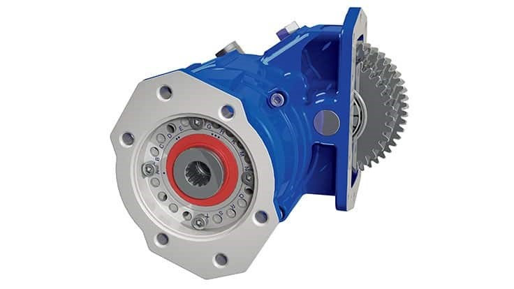 A20 series PTO features rotatable flange