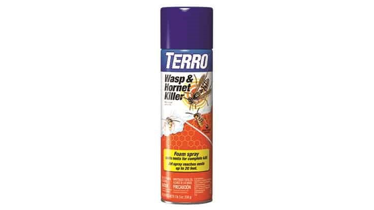Woodstream Releases Terro Wasp and Hornet Spray