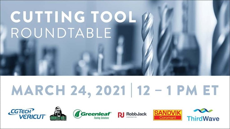Reigster! Don't miss the Cutting Tool Roundtable