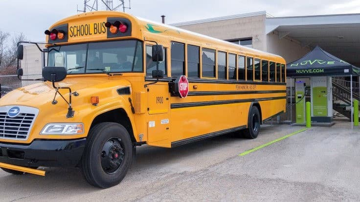 Illinois tests vehicle-to-grid with school buses
