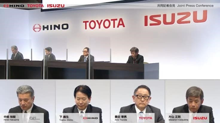Toyota, Hino, Isuzu partner for commercial vehicles