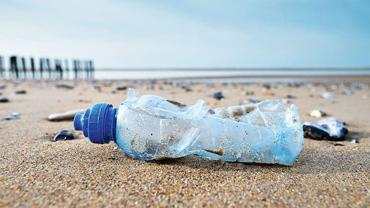 SABIC offers recycled material from ocean-bound PET