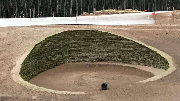 New northeast Florida course will feature revetted bunkers