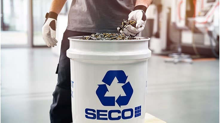 Seco Tools sets recycling-related circularity goal