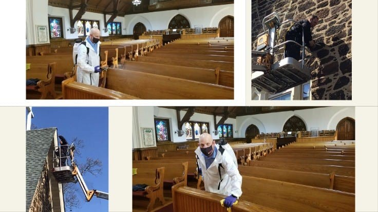 Western Pest Services Helps Local Churches Open for Services