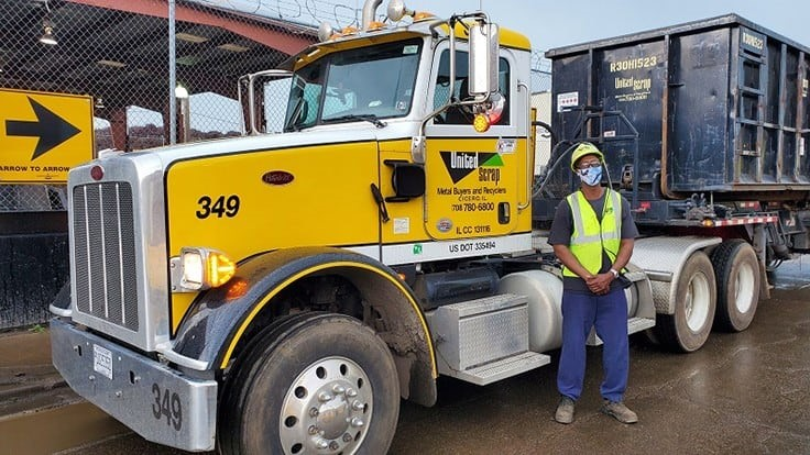 United Scrap Metal employee receives ISRI's Driver of the Year award