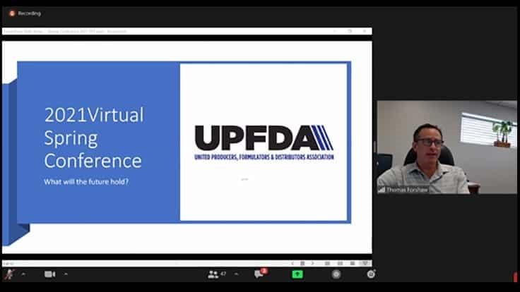 UPFDA Looks to the Future  At Virtual Spring Conference