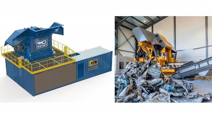 Wendt Corporation announces sale of Wendt/MTB EZR Pre-Shredder to Rochester Iron and Metal