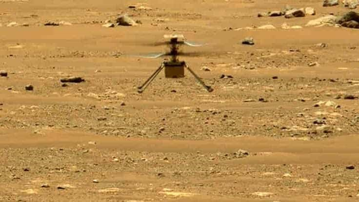 NASA's Ingenuity Mars helicopter logs second flight