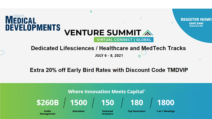 Registration open for Venture Summit \ Virtual Connect Global