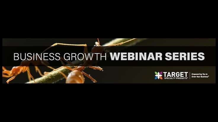 Target Specialty Products Announces Business Growth Webinars for May