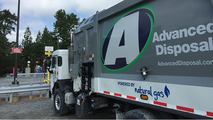 Advanced Disposal using CNG in Georgia