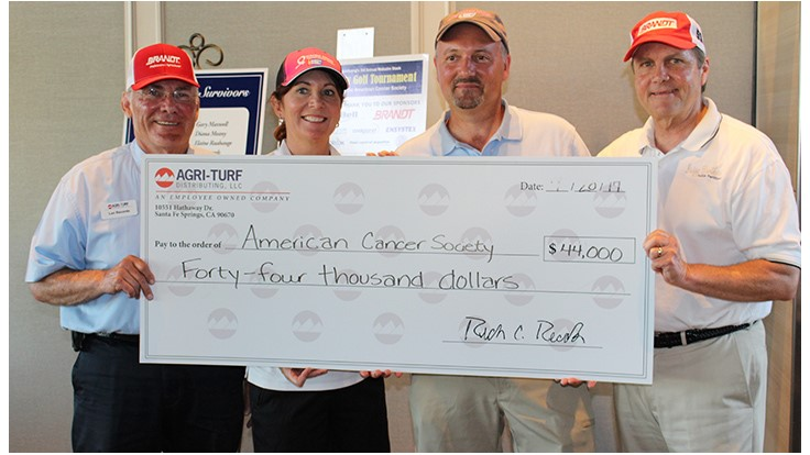 Agri-Turf Golf Tourney Raises $44,000 for American Cancer Society