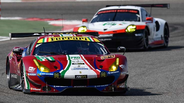 ANSYS supports Ferrari endurance racing wins