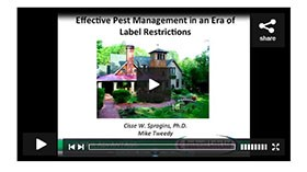 Archived Webinar: Effective Pest Management in an Era of Label Restrictions