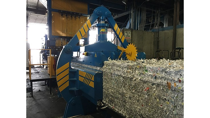 Mid America Recycling installs Imabe baler