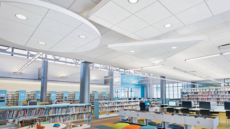 Armstrong expands portfolio of sustainable ceiling systems