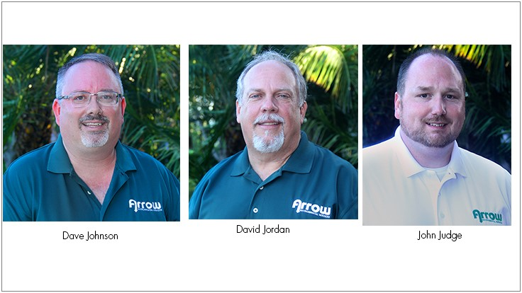Arrow Environmental Services Hires Three Branch Operations Managers