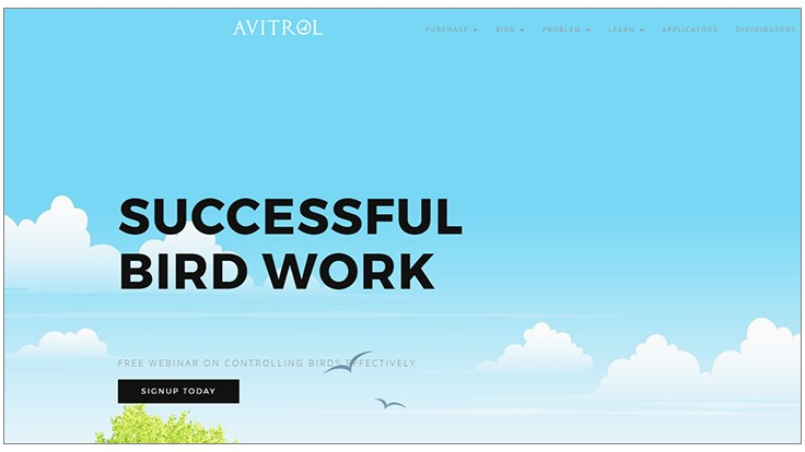 Avitrol Relaunches Website