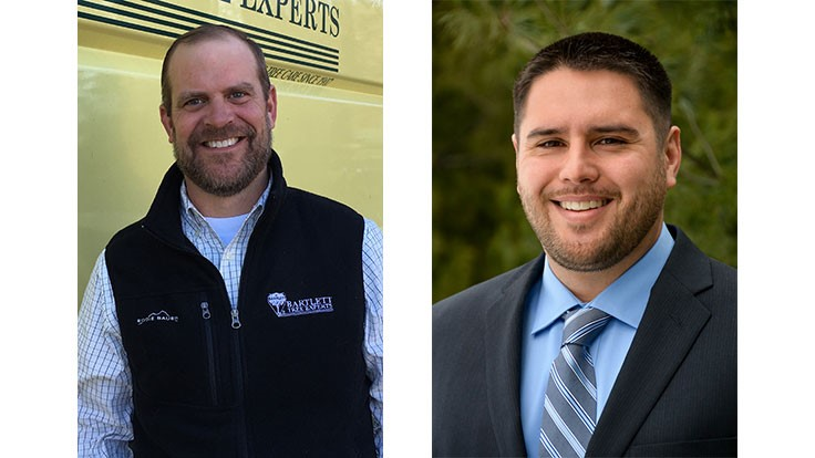 Bartlett Tree Experts promotes two arborists