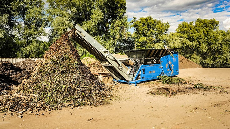 Eggersmann Group promotes a range of equipment for processing wood and biowaste