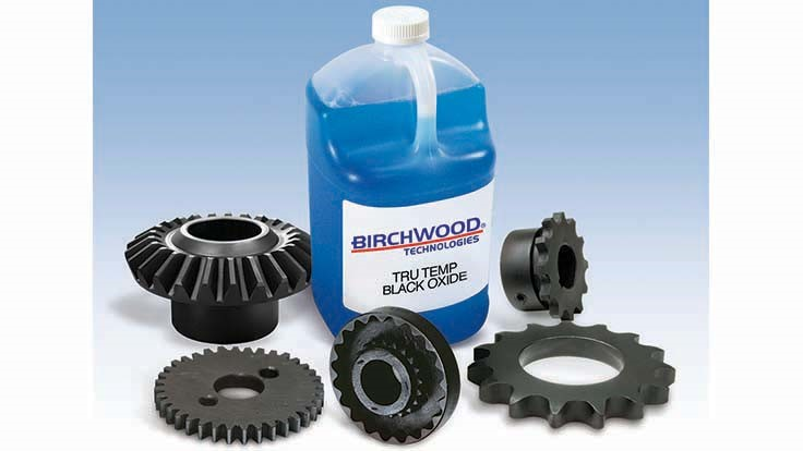 Birchwood black oxide process