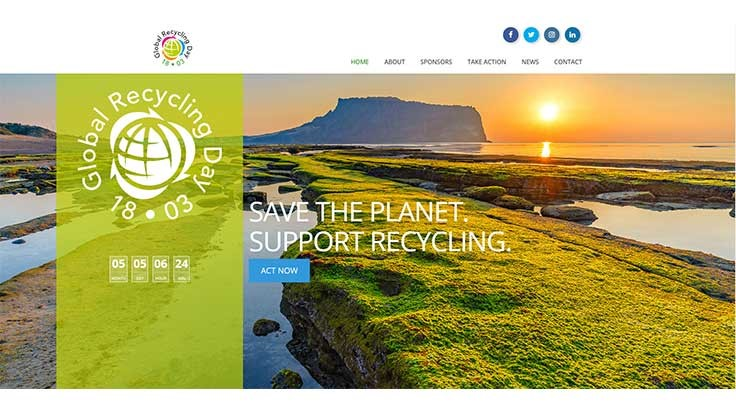 Global Recycling Day website launches