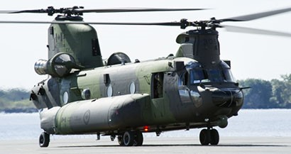 Boeing Delivers Fifth RCAF CH-147F Chinook Helicopter