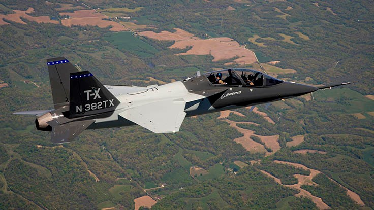 Second Boeing T-X aircraft takes flight